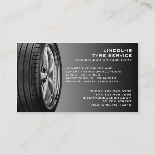 Used car sales business cards business card printing zazzle uk tires auto repair business card reheart Images