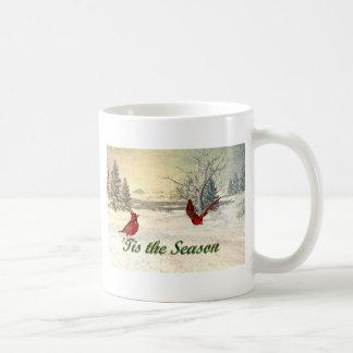 tis the season Christmas Mug