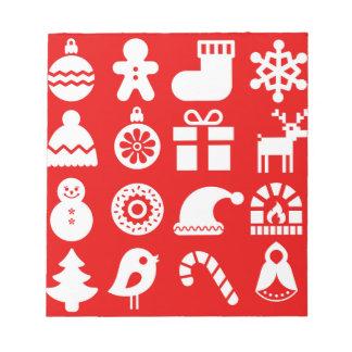'Tis the Season Christmas Notepad