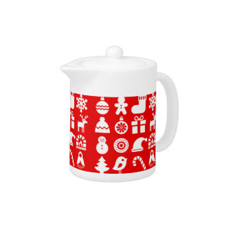 '''Tis the Season Christmas Teapot