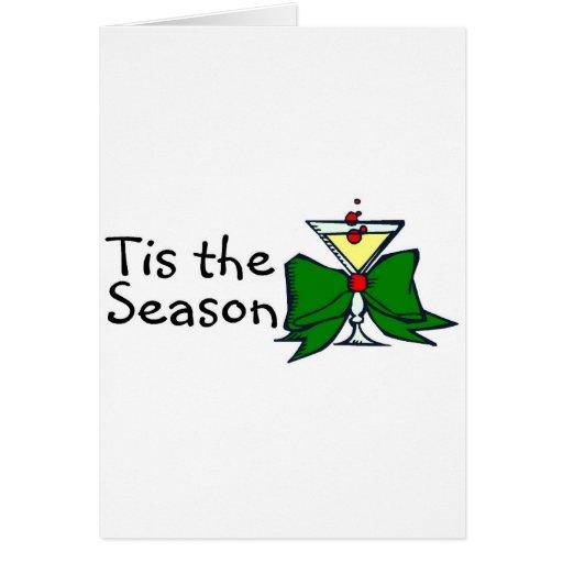 Tis The Season Drink Cards