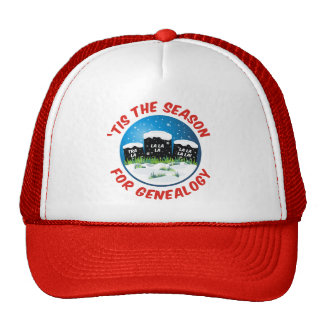 'Tis The Season For Genealogy Cap