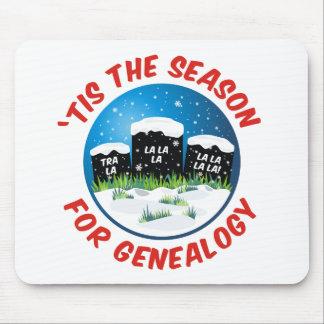 'Tis The Season For Genealogy Mouse Pad