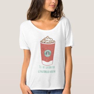 Tis The Season For Gingerbread Mocha T-Shirt