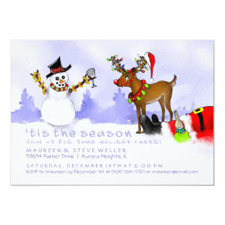 Tis the Season Holiday Invitation - Party Fun