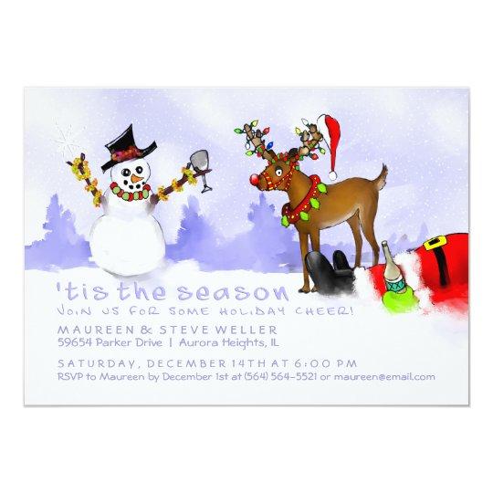 Tis the Season Holiday Invitation - Party Fun