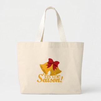 Tis The Season Jumbo Tote Bag