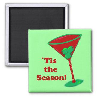 `Tis the Season Refrigerator Magnet