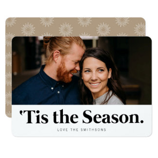 Tis the Season | Modern Holiday Photo Cards