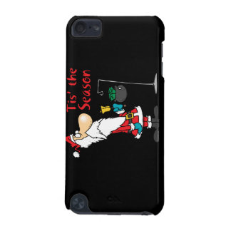 tis the season to be giving donation santa toon iPod touch (5th generation) cover