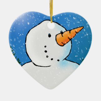 'Tis The Season To Be Jolly Ceramic Heart Decoration