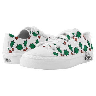 Tis the Season to Wear Holly Low Tops