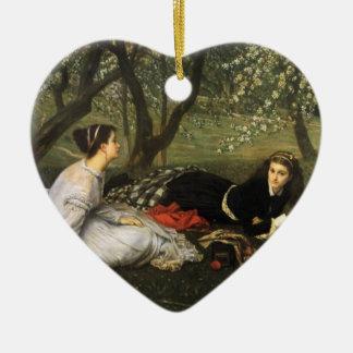 Tissot: Spring Ceramic Heart Decoration