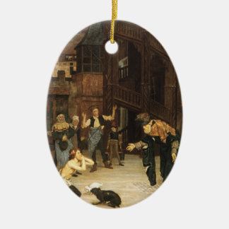 Tissot: The Return of the Prodigal Son Ceramic Oval Decoration