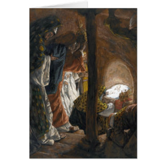 """Tissot's """"The Adoration of the Magi"""" Card"""