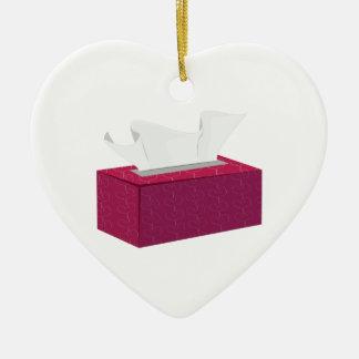 Tissue Box Christmas Ornament