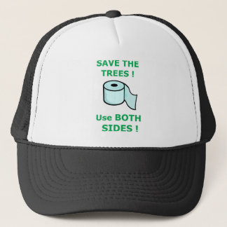 tissue full trucker hat