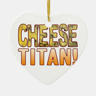 Titan Blue Cheese Ceramic Heart Decoration