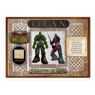 Titan Card Post Cards