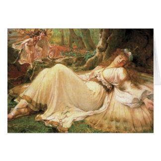 Titania 1896 greeting card
