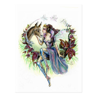 Titania and Bottom Postcard