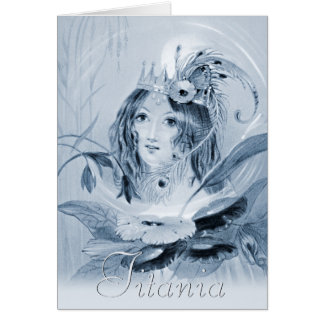 Titania (Meadows, Shakespeare) CC0515 Fairy Card