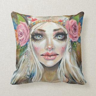 Titania Queen of the Faeries Original Art Cushions