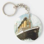 Titanic at Sea Key Chains