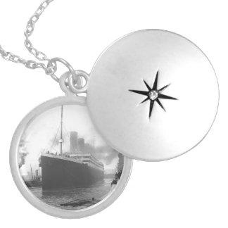 Titanic at the docks of Southampton Lockets
