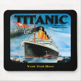 Titanic- Custom Mouse Pad