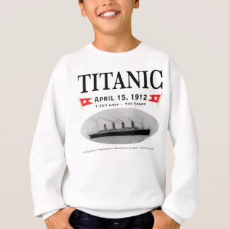 Titanic Ghost Ship Kid's Sweatshirt