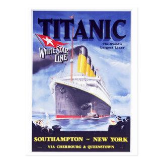 Titanic Postcard