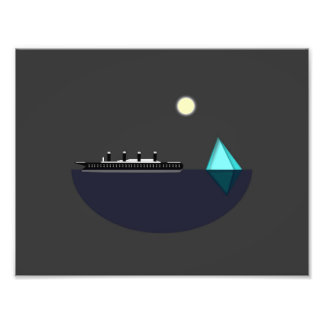 Titanic Print Photo Art