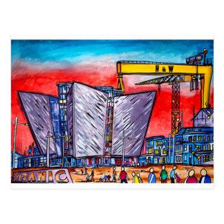 Titanic Quarter Belfast Postcard