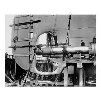 Titanic s Propeller Shafts Print