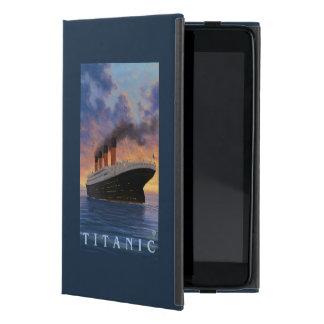 Titanic SceneWhite Star Line Covers For iPad Mini