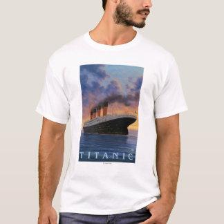 Titanic SceneWhite Star Line T-Shirt