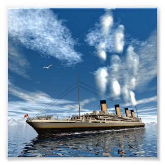 Titanic ship photograph