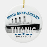 Titanic Sinking 100 Year Anniversary Christmas Tree Ornaments