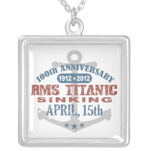 Titanic Sinking 100 Year Anniversary Jewelry