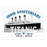 Titanic Sinking 100 Year Anniversary Postcard