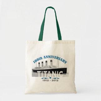 Titanic Sinking 100 Year Anniversary Tote Bag