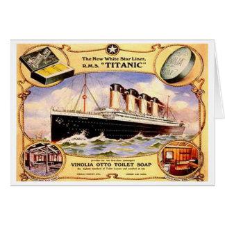 Titanic Soap Card