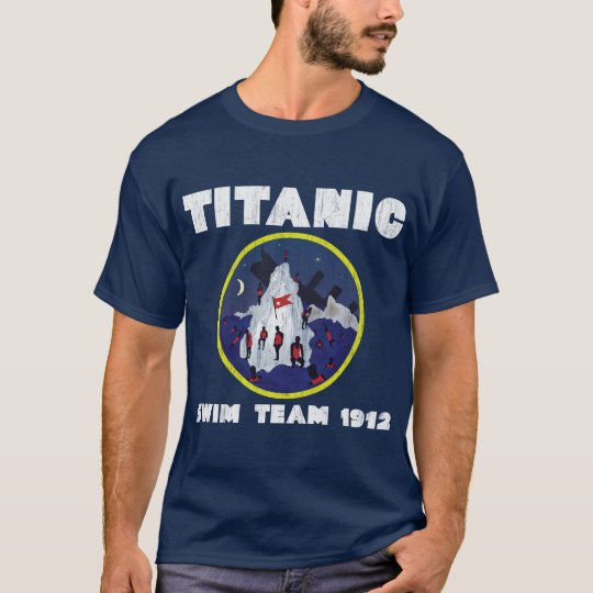 TITANIC Swim team 1912 T-Shirt