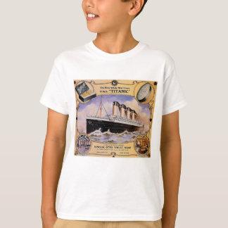 Titanic Vintage Soap Ad Kids T T-Shirt