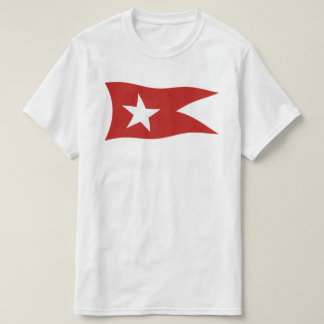 Titanic White Star Line Flag with White Star T-Shirt