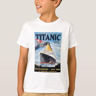 Titanic White Star Line Poster Shirt