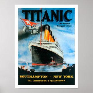 Titanic-World s Largest Liner Print