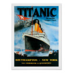 Titanic-World's Largest Liner! Poster