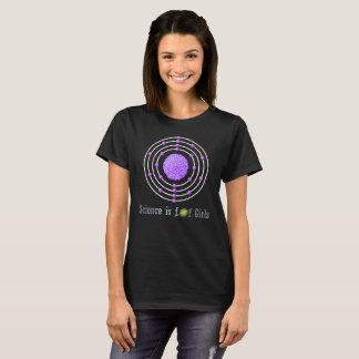 Titanium Atom Science is for Girls T-Shirt